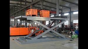 Basement Car Lift Ce 3t 3m Hydraulic Scissor Car Lift For Home Garage Basement