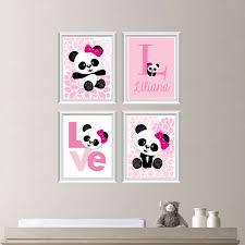 Items Similar To Art Print - items similar to panda bear print printable digital baby girl