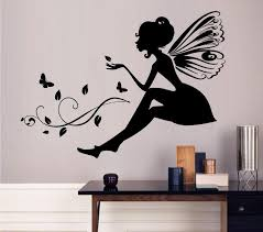 Kids Room Wall Decor Stickers by Flower Fairy Wall Decoration Quote Vinyl Wall Stickers Art Mural