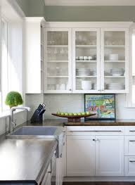 cabinets u0026 drawer contemporary spacious kitchen layout white
