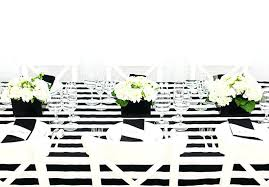 white party table decorations decoration black and white party black and white party decoration