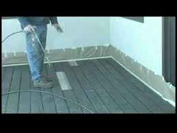 how to stain a deck how to stain a deck with solid stain youtube