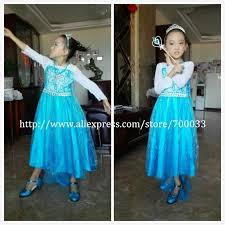 glitter girls shoes princess high heels blue elsa dress shoes kids