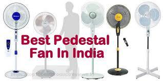 pedestal fan lowest price 2018 new models top 10 best pedestal fans in india