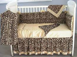 Leopard Crib Bedding Leopard Baby Bedding Set Print Sets Cheetah For Boys And
