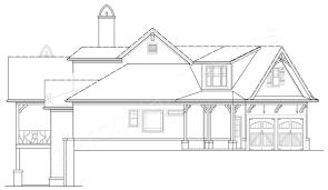 nantahala bungalow small cottage design ranch house plans