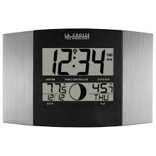 amazon com la crosse technology ws 8117u it al atomic wall clock