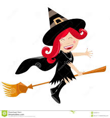 happy halloween free clip art happy halloween child witch flying on broom royalty free stock
