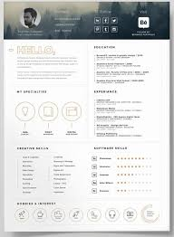 contemporary resume template free download business infographic 130 new fashion resume cv templates for