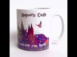 harry potter hogwarts designer mug youtube
