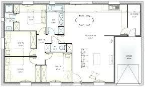 maison 3 chambres plain pied plan maison 3 chambres maison 3 chambres 2 salles de bain plan