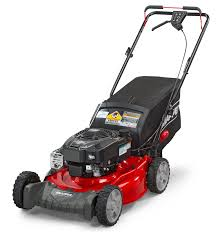 snapper 21 u0027 u0027 front wheel drive self propelled gas mower with side