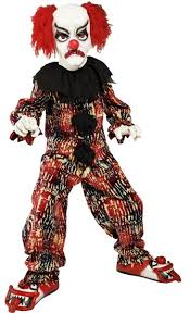 scary clown costumes boys scary clown kids costume mr costumes