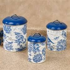 blue and white kitchen canisters clearance kitchen accessories touch of class