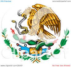 Cartoon Mexican Flag Mexican Cartoon Clipart