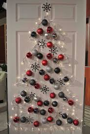 black and white christmas tree decorations 6668