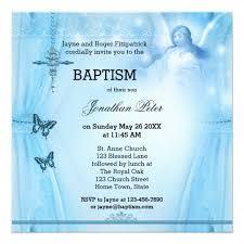 blessing invitation angel blessing boy baptism christening invitation zazzle