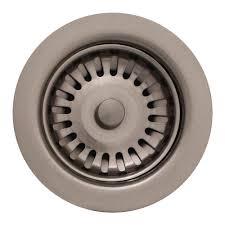 Whitehaus  Inch Extended Kitchen Sink Basket Strainer - Kitchen sink strainer