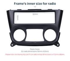 nissan almera performance upgrades for nissan almera n16 2000 2006 car stereo frame fascia panel 1