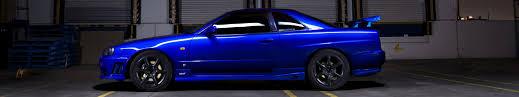 nissan blue car car triple screen skyline r34 nissan skyline gt r blue
