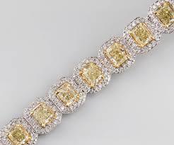 bracelet diamond yellow images St2917 natural fancy yellow diamond with round diamonds tennis jpg