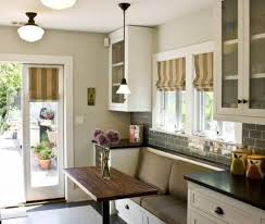 kitchen fascinating kitchen nook bench seating plans with white
