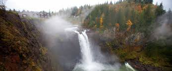 snowqualmie falls and the salish lodge will tempt you to return