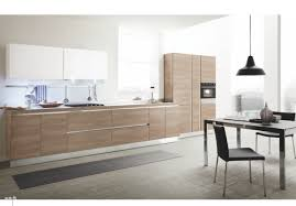 nice small apartment kitchen design showing grey high gloss finish