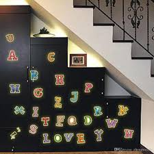 eco friendly fluorescent luminous wall sticker glow in the dark eco friendly fluorescent luminous wall sticker glow in the dark color english letters luminous paste decal for kids rooms decoration wall shop window