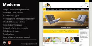 moderno themeforest corporate wordpress theme wplocker com