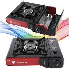 portable table top butane stove portable single burner butane gas cing stove w hard case