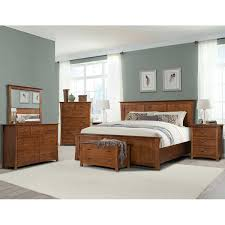 Bedroom Collections Furniture Chartres 7 Piece Queen Bedroom Set