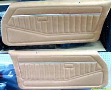 1981 Camaro Interior 81 Camaro Door Panels Ebay