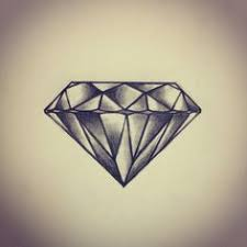 tattoo old school diamond set of diamond tattoos in traditional vintage style vector