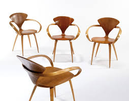 norman cherner plycraft group of 4