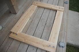 diy reclaimed wood mirror frame doherty house creativity