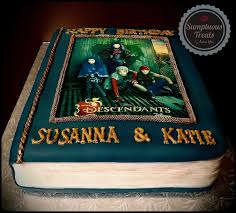 custom made cakes disney descendants book cake custom made to order cakes