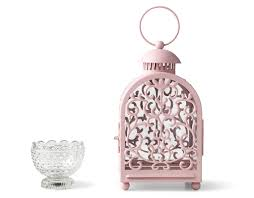 lanterns home decor adorable metal painted pink lantern home decor items made out of