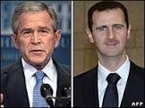 Bush diz que perdeu paciência com líder da Síria