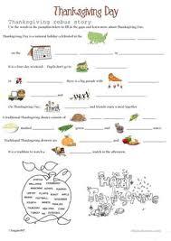 21 free esl thanksgiving day worksheets