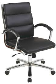 Leather Executive Desk Chair Faux Leather Executive Office Chair Cognac Brown Desk Chairs At