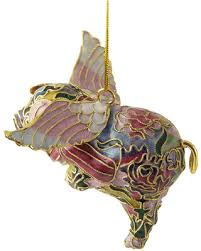 find the best savings on cloisonne flying pig ornament