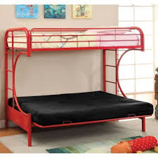 Twin Over Futon Bunk Bed Best 25 Futon Bunk Bed Ideas On Pinterest Loft Bed Curtains