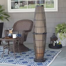 Patio Floor Lights by Bristol Outdoor Patio Floor Lamp Hayneedle