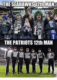 12th Man Meme - the seahawks 12th man the patriots 12th man 10 nfl meme on me me