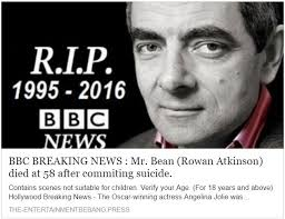rowan atkinson death hoax
