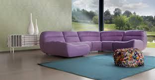 canapé polyester canapé modulable contemporain en polyester 4 places
