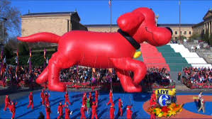 philadoptables at the thanksgiving day parade