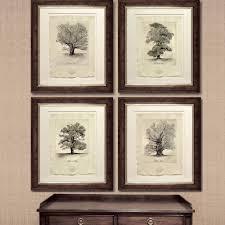 lyndi sales signed limited edition seasonal trees set of four