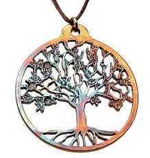 Tree Of Life by Amazon Com Tree Of Life Iridescent Pendant Necklace On Adjustable